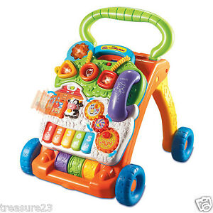 Vtech-Sit-to-Stand-Learning-Musical-Deluxe-Piano-Baby-Activity-Walker-New