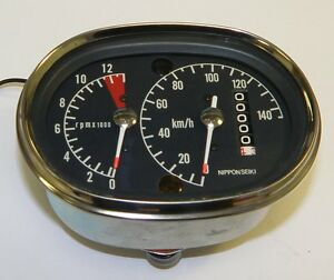 Honda-CB125K3-NOS-CR93-street-legal-speedo-tacho-SS125-CB160-CB175-CB72