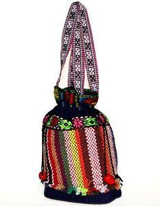 Hippie Boho 60's Nepal Thai Tibetan Trekking Hiking Colourful Holiday Handbag