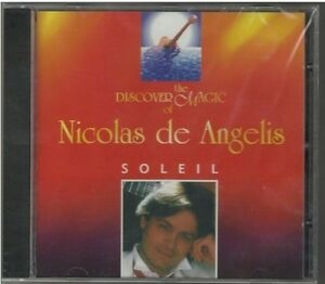 CD-Nicolas-De-ANGELIS-Soleil-17-track-Portugal-NEW-SEALED-RARE