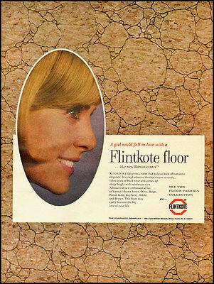 1966 vintage ad for Flintkote Flooring  -032412