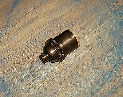 Solid Brass Light Socket, Keyless, Vintage Industrial Lamps Pendants, 6 Options