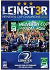 Leinster - Heineken Cup Champions 2012 (DVD, 2012)