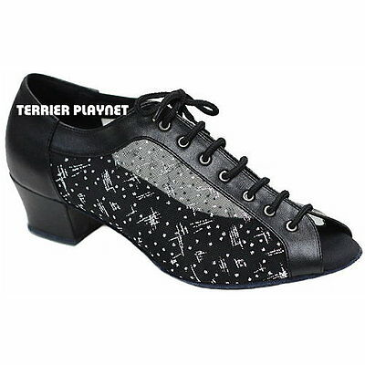 TPS Latin Ballroom Salsa Custom-made Dance Shoes D858