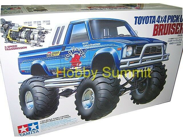 Tamiya 1 10 R C BRUISER Toyota 4X4 recoger (RN36) Off Road Truck