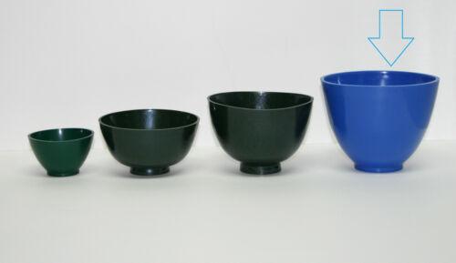 Dental lab hygienist flexible mixing bowl rubber Extra Large Dental Emporium