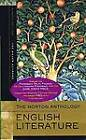 The Norton Anthology of English Literature: v. A & B: Major Authors by Stephen Greenblatt (Paperback, 2006)