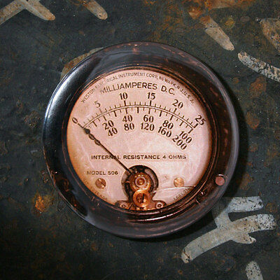 "GAUGE 10 - Printed Round Fridge Magnet, Steampunk, 2.25"""