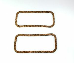Mini-Morris-Leyland-Clubman-Moke-Pair-Side-Plate-Gaskets-Thin-Cork-NEW