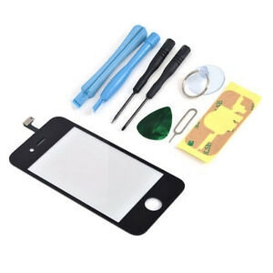 Black-Replacement-Touch-Screen-Glass-Digitizer-Lens-for-Iphone-4G-8-Tool-Kits