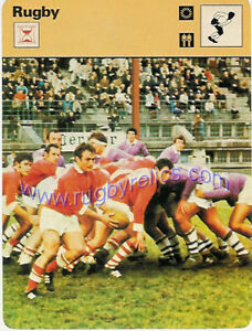 A-Game-for-Gentlemen-EDITIONS-RECONTRE-S-A-Sportscaster-1978-RUGBY-CARD