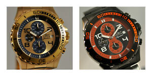New-Mens-Invicta-Signature-Chronograph-Bracelet-Watch-Choice-of-2-Colors