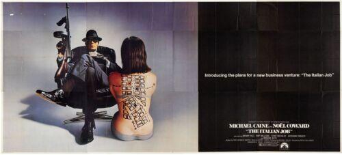 "US 24 sh Huge Movie Poster Billboard Michael Caine 104""x232"" ""ITALIAN JOB"" 1969"