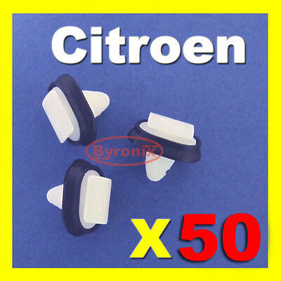 CITROEN JUMPER RELAY CLIPS SIDE TRIM MOULDING PLASTIC EXTERIOR STRIP X 50