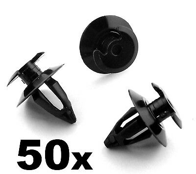 50x VW Transporter T3 (T25) T4 Interior Door Card & Trim Panel Lining Clips
