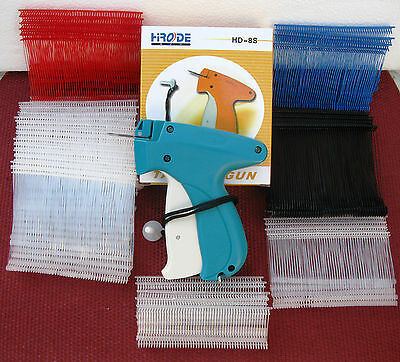 Garment Price Label Tag Tagging Gun 2000 Barbs 1 Needle
