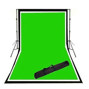 Cowboystudio-3-6x9-Photo-Video-Support-System-B-W-G-Chroma-Key-Backdrop