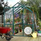 Systems Trading EasyGrow by STC Greenhouse. Clear Grow 6 x 8 Greenhouse EG45608G (701762456127)