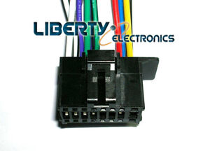 new 16 pin wiring wire plug harness for pioneer deh 150mp deh image is loading new 16 pin wiring wire plug harness for