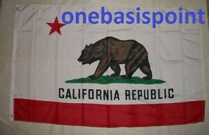 3-039-x5-039-CALIFORNIA-FLAG-USA-CA-STATE-GRIZZLY-BEAR-GOLDEN-OUTDOOR-INDOOR-BANNER-3X5