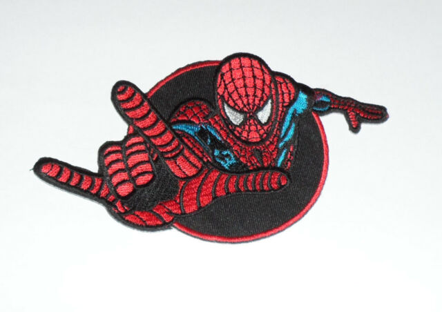 Marvel SPIDERMAN Embroidered iron on Patch 5 1/4""