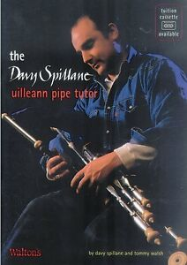 WALTONS-The-Davy-Spillane-Uilleann-Pipe-Tutor-BOOK-NEW-CELTIC-FOLK-LEARNING