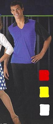 50s Rock Around Clock Mens & Boys Bowling Shirt Dance Costume Adult & Child