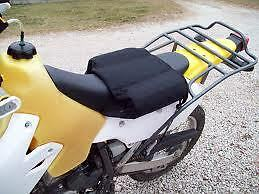 """DR650 XR650 Seat Expander, removable for aggressive trail riding 7"""" Sweet Cheek"""