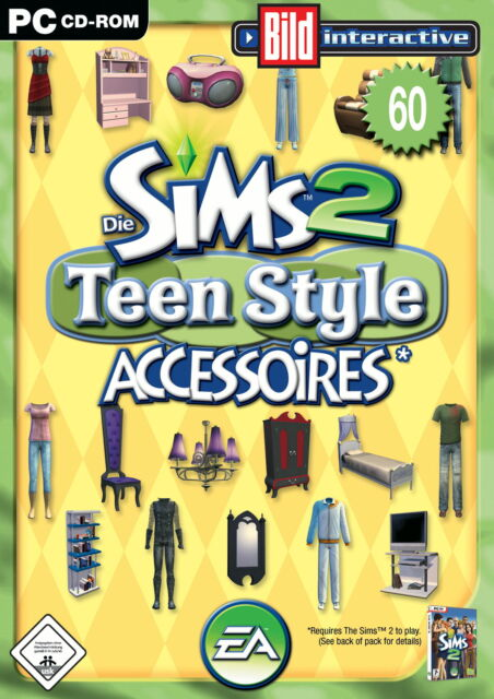 Die Sims 2 Teen Style ★ Accessoires★PC ★ Sehr Gut ★