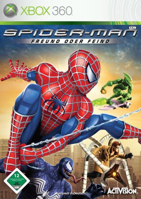 Spider-Man: Freund oder Feind (Microsoft Xbox 360, 2007, DVD-Box)