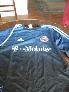MENS-OLIVER-KAHN-Germany-BAYERN-MUNICH-OFFICIAL-ADIDAS-Goalkeeper-SOCCER-Jersey