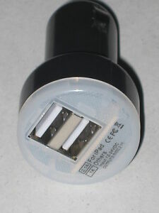 CIGARETTE-LIGHTER-ADAPTER-DUAL-PORT-USB-CAR-CHARGER-12V-CARAVAN-RV-4X4