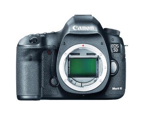 Canon EOS 5D Mark III 22.3 MP Full Frame CMOS Digital SLR Camera (Body)