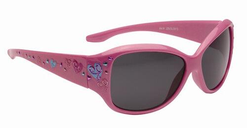 Childrens Kids Girls Plastic Cute Pink Retro Dark Designer Sunglasses Shades