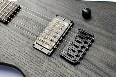 New Hipshot Fixed Bridge 6 String Black 41100B - Auth Dealer Fast Ship
