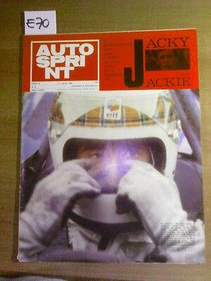 AUTOSPRINT: JACKY BATTE JACKIE - 4-11 AGOSTO 1969