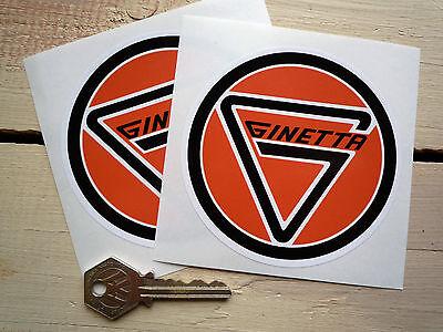"Ginetta Circular Logo Car Stickers 4"" G2 G3 G4 G6 G8 F3 G11 G12 G16 G21 Race"