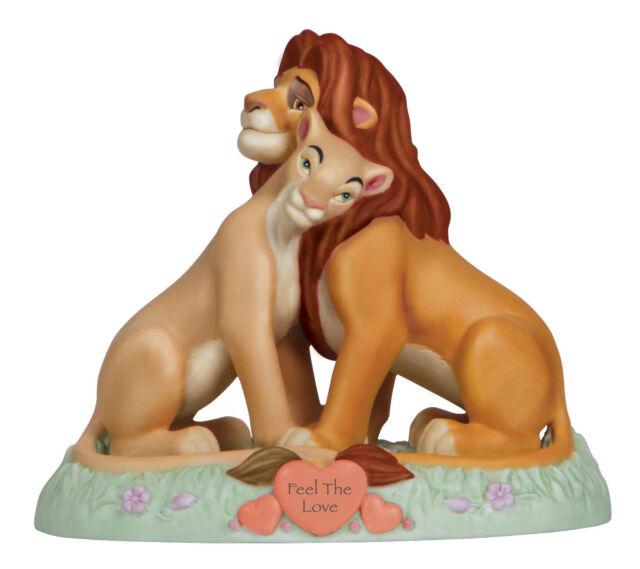 Precious Moments Disney The Lion King Simba And Nala Feel The Love Fig #123704