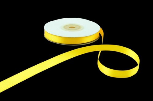 High Quality Full Reel Double Sided Faced Satin Ribbon Rolls Tying Crafts