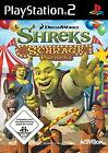 Shreks schräge Partyspiele (Sony PlayStation 2, 2008, DVD-Box)