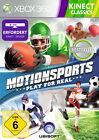MotionSports -- Pyramide Software (Microsoft Xbox 360, 2012, DVD-Box)