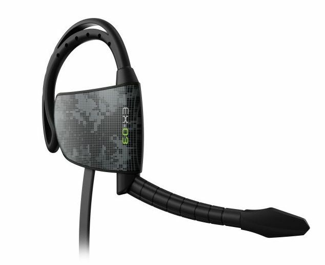 Gioteck EX-03 Black Ear Hook Inline Xbox 360 Controller Chat Headset Urban Camo