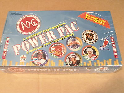 POGS HOCKEY 1994 UNOPENED BOX 24 PACKS WITH A CHANCE OF GETTING A GRETZKY, ROY,