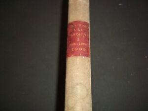 1909-JAN-JUN-VIE-A-LA-CAMPAGNE-MAGAZINE-VOLUME-FRENCH-NICE-COVERS-KD-975
