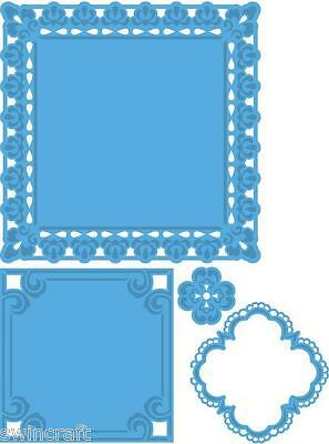 Marianne CREATABLES Cutting & Embossing Die FRAMES set of 4 - LR0234 REDUCED
