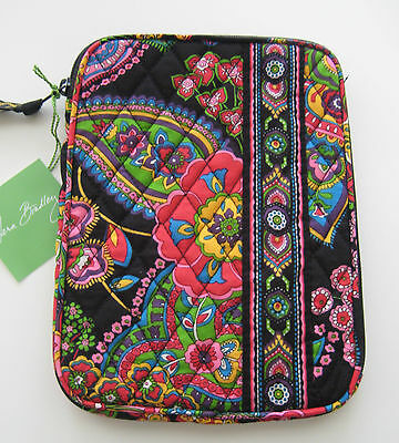 Vera Bradley Symphony in Hue Ipad Mini E Reader Sleeve Kindle Tablet New