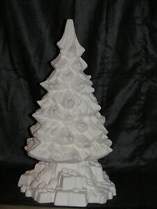 Ceramichrome ceramic bisque christmas tree with toy base for Ceramic based paint
