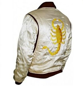 SLIM-FIT-DRIVE-GOSLING-BIKER-RIDER-TRUCKERS-JACKET-WITH-EMBROIDERED-SCORPION