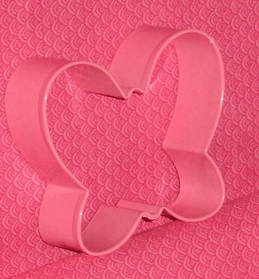 Butterfly Cookie Cutter, Painted Metal, 3IN.Pink,509-293 Wilton,Floral & Garden