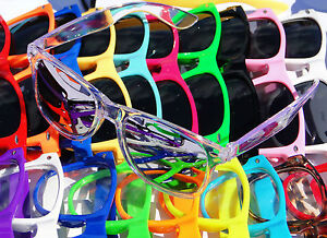 Heaps-of-Colours-To-Choose-Mens-Womens-Wayfarer-Sunglasses-Retro-Fashion-Nerd-AU